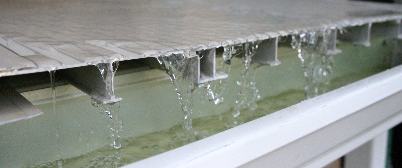aluminum decks ariddek watertight decking
