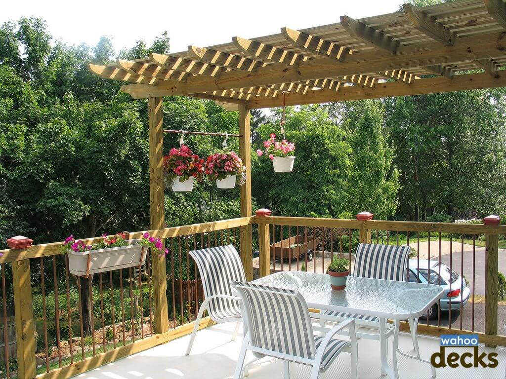 Deck Design Tips Ways to Add Privacy to Your Deck | Wahoo Decks | Wahoo Decks Aluminum Decking & Deck Railing