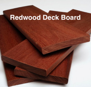 Redwood Deck Board