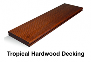Tropical Hardwood Decking
