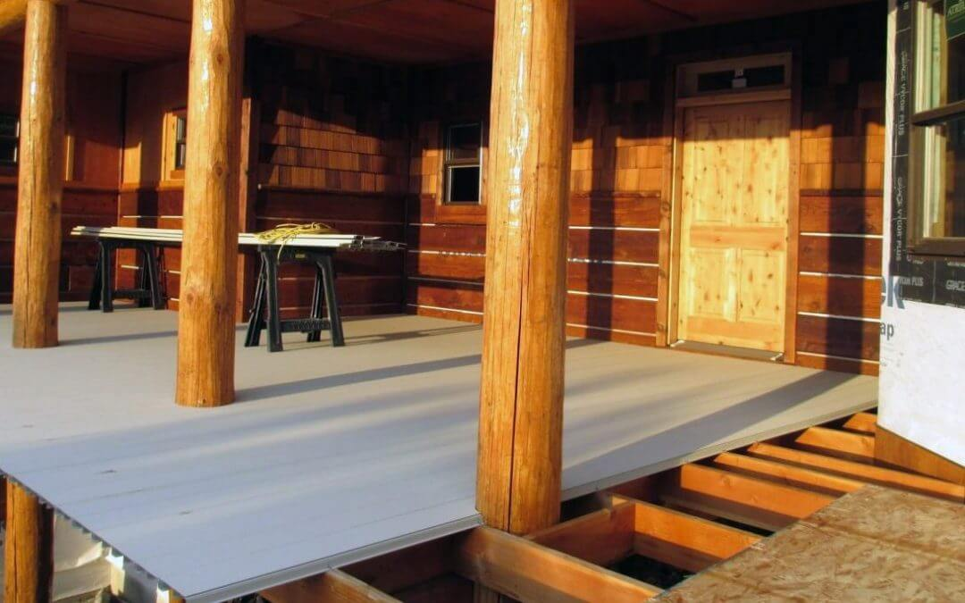 Save Time and Money with AridDek Aluminum Decking for a Dry Under Deck Area