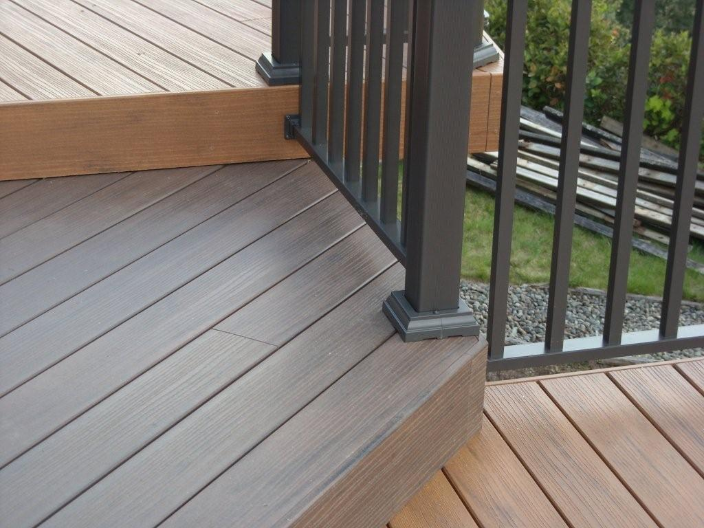 Glass railings for decks - You Ve Created The Perfect Deck Design Don T Sacrifice The Gorgeous Outdoor Living Area You Ve Created With Deck Railings That Don T Meet The Same Standards