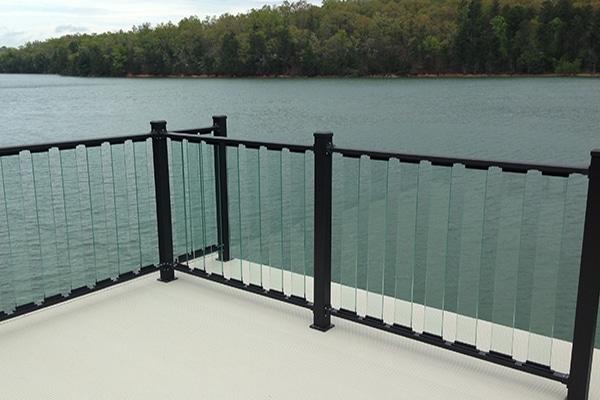 Wahoo Glass Rail Deck Railing System Wahoo Decks