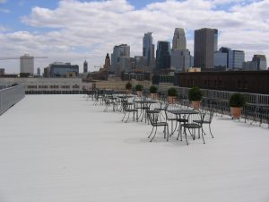 Wahoo engineered aluminum decking like fortis deck boards good for rooftop applications