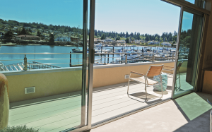 Modern Architecture complimented by Fortis aluminum decking