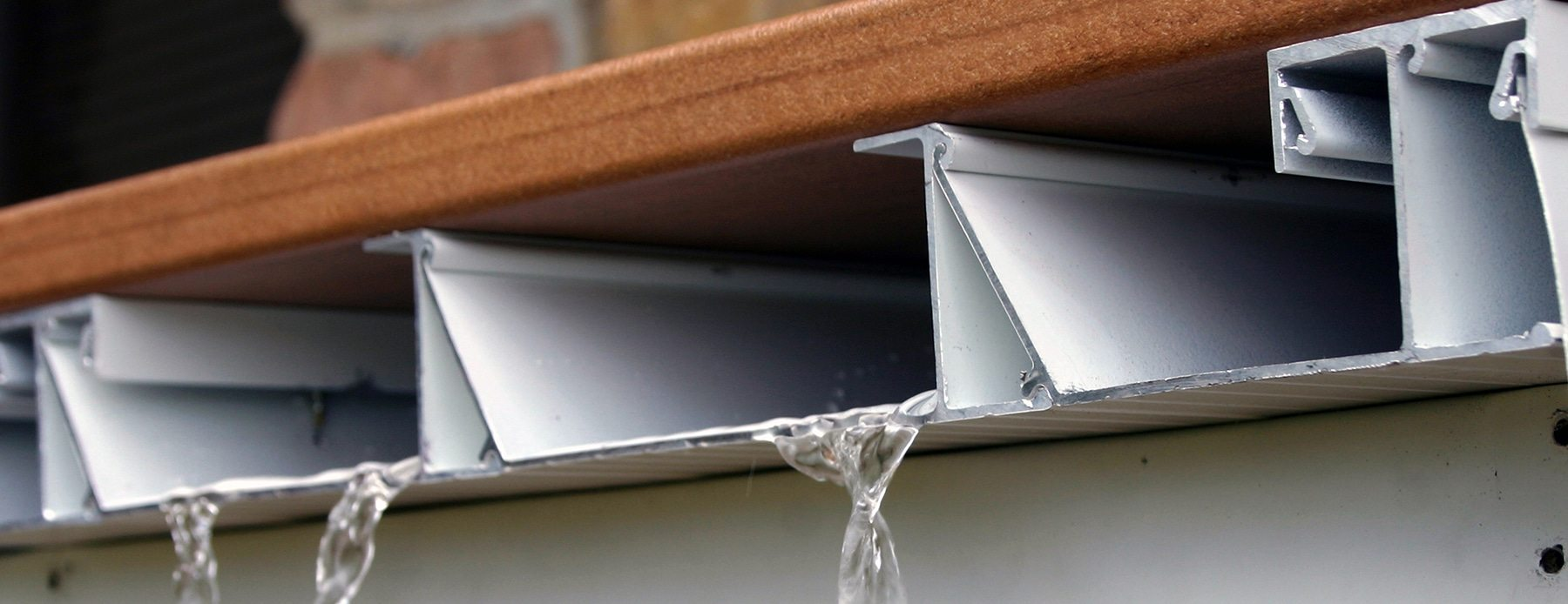 Does Your Dream Deck Design Include A Dry Under Deck Area? Then You Need  One Of Our Aluminum Waterproof Decking Systems.