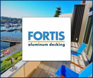 Fortis Aluminum decking – interlocking deck board system