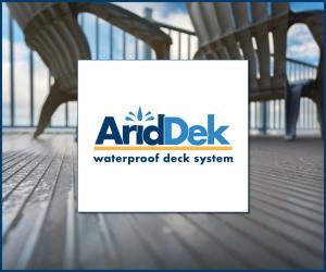 AridDek aluminum decking boards square logo