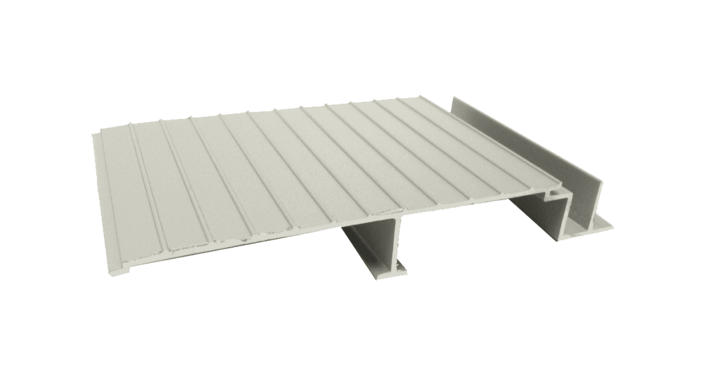 AridDek Aluminum Decking Granite
