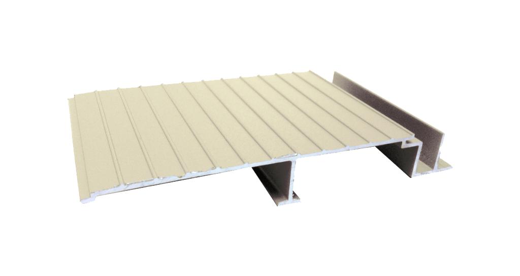 AridDek Aluminum Decking Sandstone