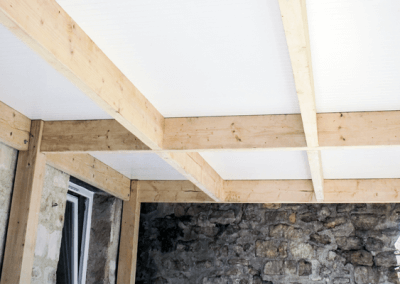 DryJoistEZ | Finished Ceiling Below