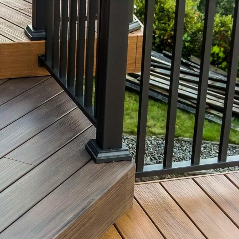 AridDek Waterproof Deck System Close Up View With Rain Water