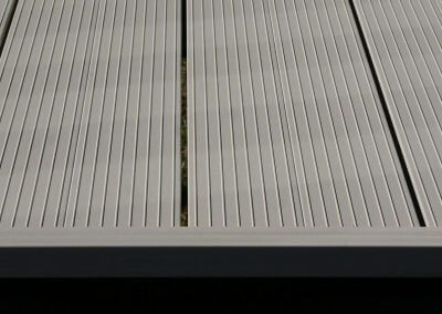 Fortis Interlocking aluminum decking boards interlocking deck panel