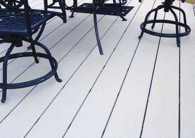 Fortis interlocking decking system with decking board