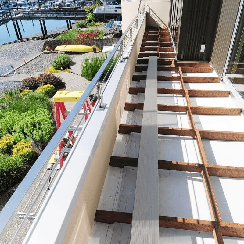 Fortis Aluminum Decking Installation
