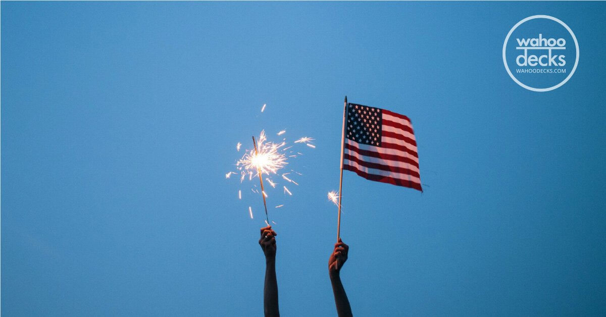 Independence Day 'Deck-orations': Celebrate The 4th Of July On Your Wahoo Deck