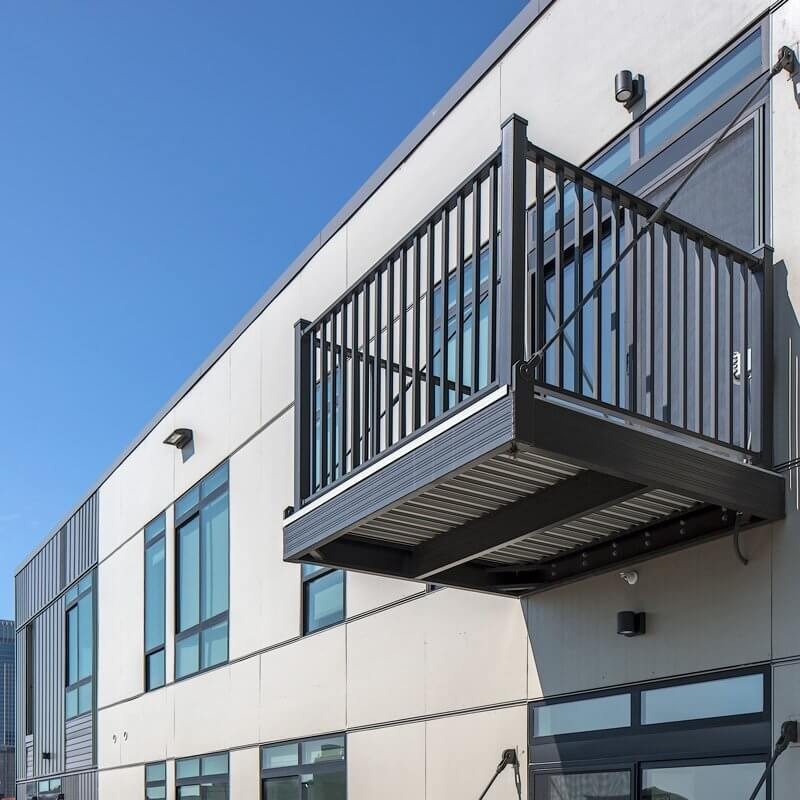 Wahoo Complete Prefabricated Balcony On A Highrise Apartment