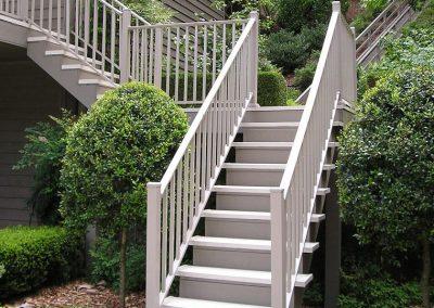 Wahoo aluminum decking aluminum railing stair kit mocha 1