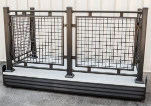 Prefabricated Balcony Mesh Railing