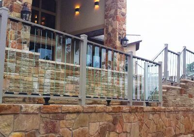 glass rail for decks clear deck railing
