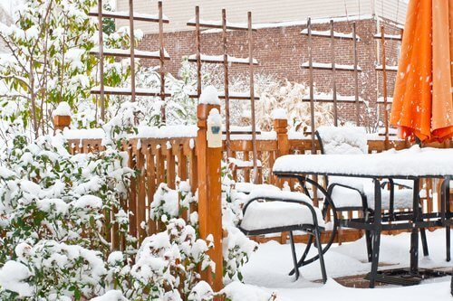 Winterize Your Deck