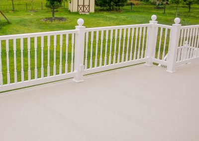 AridDek With White Railing