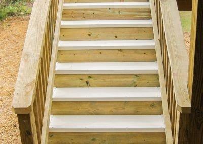 AridDek Waterproof Deck System On Deck Steps