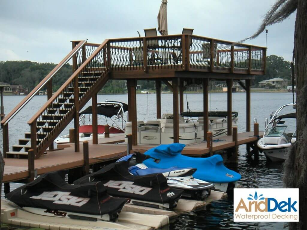 dock with dock acccessories