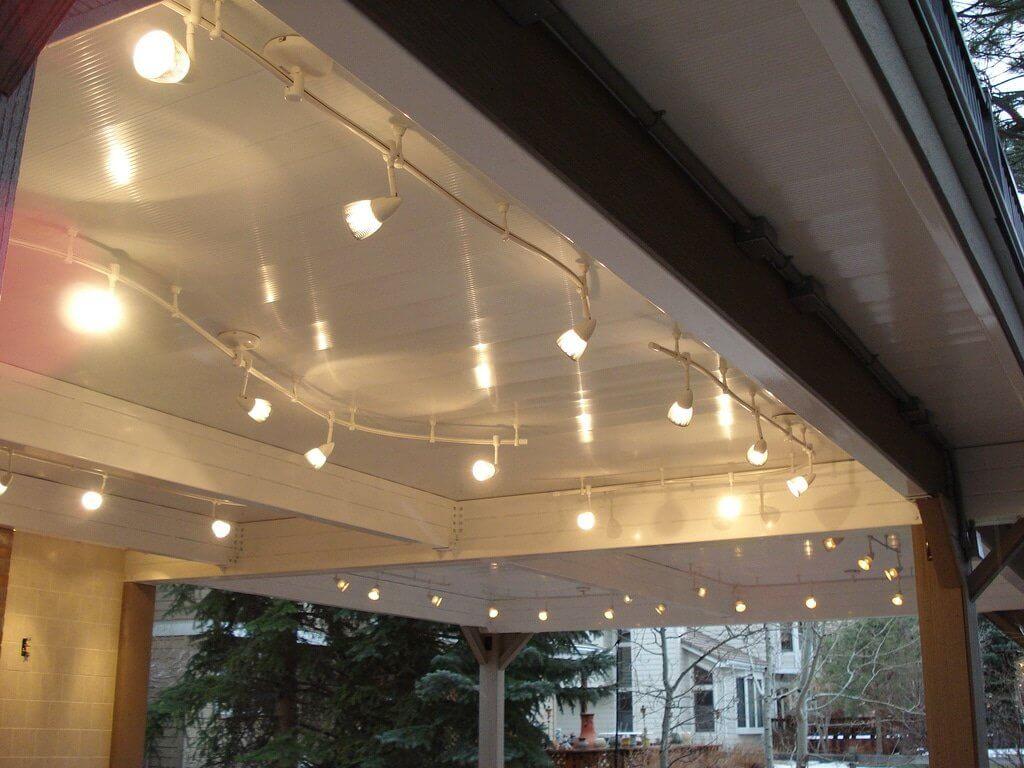 Installing Deck Lighting In a Totally Dry Under Deck Area | Wahoo Decks Aluminum Decking & Deck Railing 1