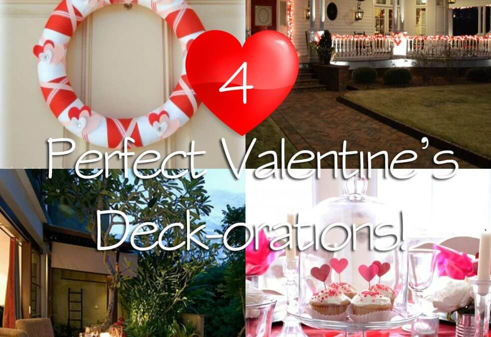 4 Perfect Valentine's Decorations for Your Deck